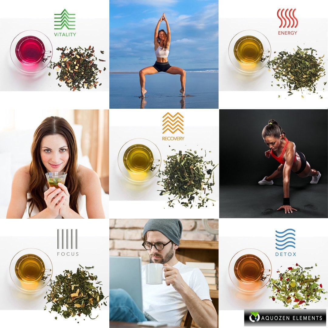 Organic-functional-Health-Tea-aquozen-five-elements